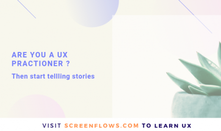 Are you a UX Practioner? Then start telling stories.